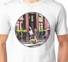 Boston MA - Cafe in Little Italy Unisex T-Shirt