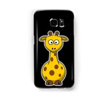 Giraffe, Cartoon, Africa, Wildlife, Trees, Fun, Funny Samsung Galaxy Case/Skin