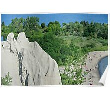 Scarborough Bluffs Park Ontario Kanada Poster