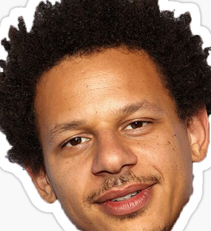 eric andre's tiny face Sticker