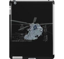 Caracal helicopter color iPad Case/Skin