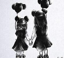 Disney Sisters by 8bitBeotch