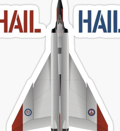 Hail Hail Sticker