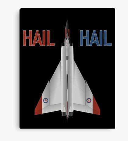 Hail Hail Canvas Print