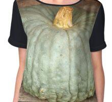 Pumpkin Chiffon Top