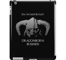 Skyrim | Dragonborn Business iPad Case/Skin