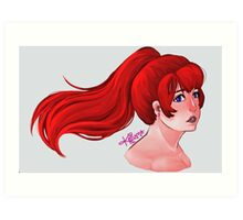 Scarlet Masque Art Print