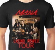 MRNTOY03 MANA Maná Latino Power TOUR 2016 Unisex T-Shirt