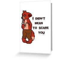 Innocent Foxy Greeting Card