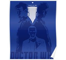 The Three Doctors Poster