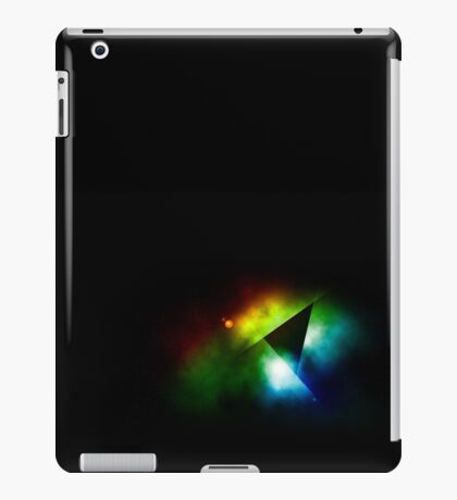 Abstract Space Mirror Scene iPad Case/Skin