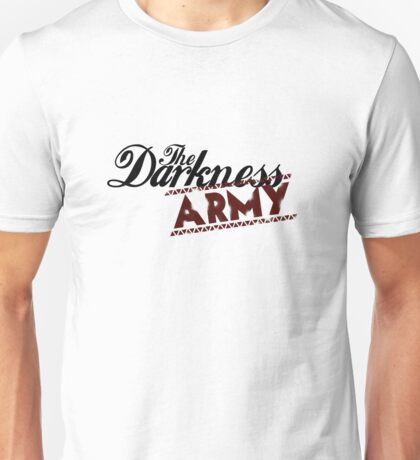 The Darkness Army Logo Unisex T-Shirt