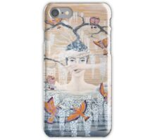Wisteria tree iPhone Case/Skin