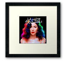 matd album cover Framed Print