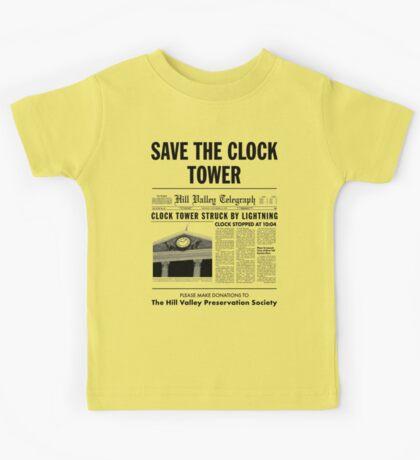 Save the clock tower Kids Tee