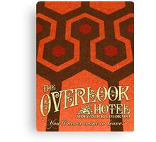 The Shining Overlook Hotel carpet Canvas Print