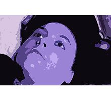 The Blue Mistress Photographic Print