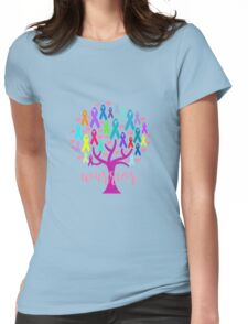 Warrior Tree Womens Fitted T-Shirt