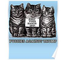 Pussies Against Trump Poster