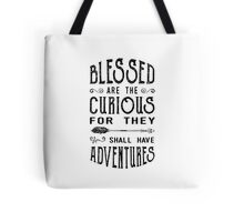 Blessed Are the Curious Tote Bag