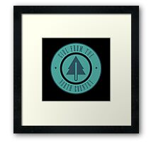 Girl from the North Country Fair Framed Print