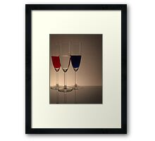 Coloured Glasses Framed Print