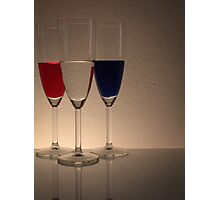 Coloured Glasses Photographic Print