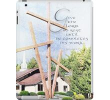 Give the Lord no rest~Is. 62:7 iPad Case/Skin
