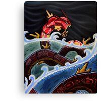 THE RED GYARADOS Canvas Print