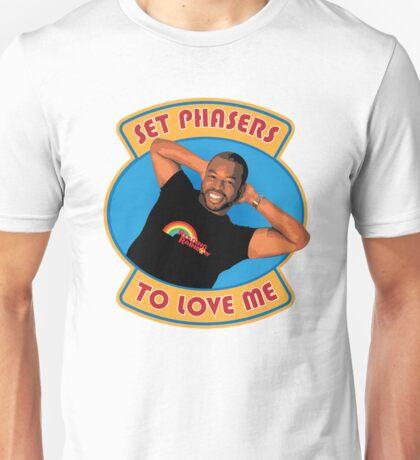 Set Phasers to Levar Unisex T-Shirt