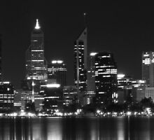 Black and White City by cbromell