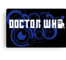 Doctor Who Gallifreyan Canvas Print