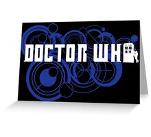 Doctor Who Gallifreyan Greeting Card