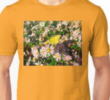 Yellow butterfly Unisex T-Shirt