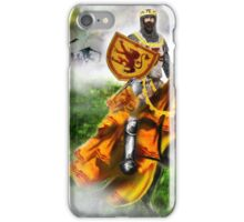 King Robert the Bruce at Bannockburn, Stirling in Scotland 1314AD [Historical Figure Drawing] iPhone Case/Skin