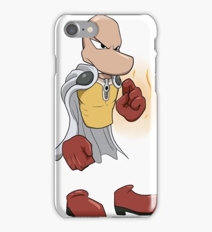 Fan handmade drawing of Rayman + One Punch  iPhone Case/Skin