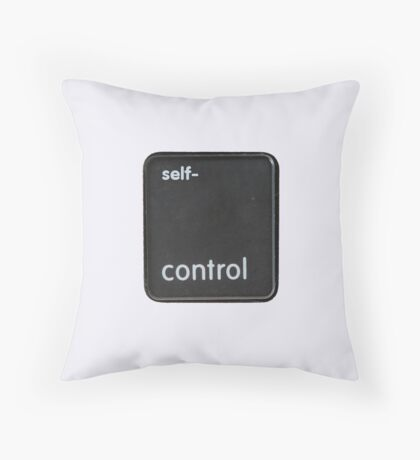 The key to self-control Throw Pillow
