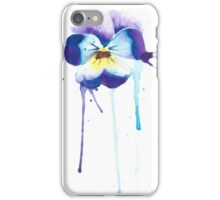 Abstract pansy iPhone Case/Skin