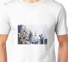 man & mouse  Unisex T-Shirt