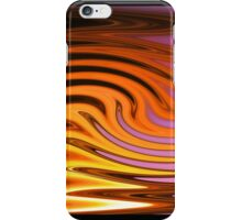 Flame and Fire Vector - Colorful Background iPhone Case/Skin