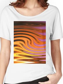 Flame and Fire Vector - Colorful Background Women's Relaxed Fit T-Shirt