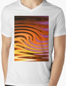 Flame and Fire Vector - Colorful Background Mens V-Neck T-Shirt