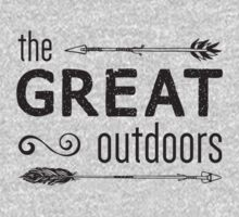 The Great Outdoors One Piece - Long Sleeve