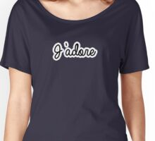 J'adore | French Women's Relaxed Fit T-Shirt