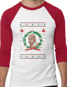 Merry Chrithmith Funny Christmas Men's Baseball ¾ T-Shirt