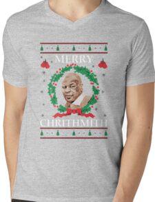 Merry Chrithmith Funny Christmas Mens V-Neck T-Shirt