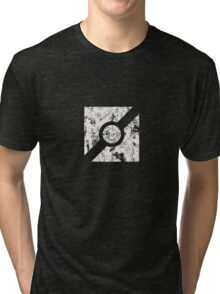 The Guilty Spark Logo Distressed Tri-blend T-Shirt