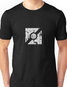 The Guilty Spark Logo Distressed Unisex T-Shirt
