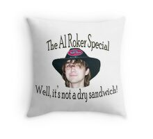 The Al Roker Special MK II Throw Pillow