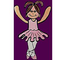 Tina Ballerina Photographic Print